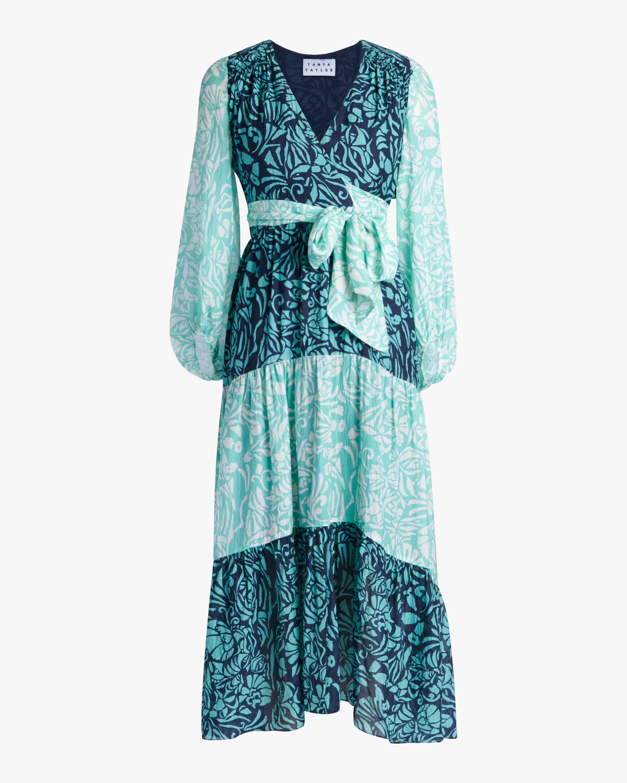Tanya Taylor Liza Long-Sleeve Dress 0