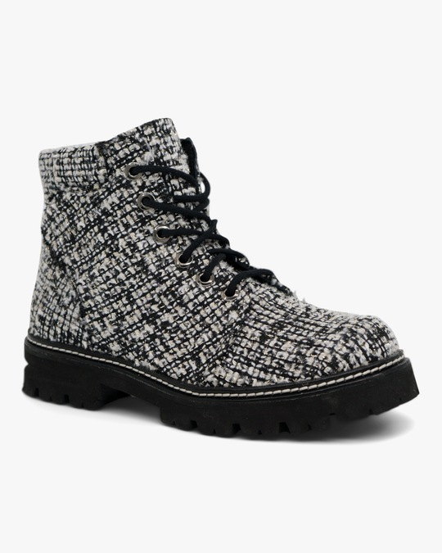 Montelliana Claudine Tweed Boot 1