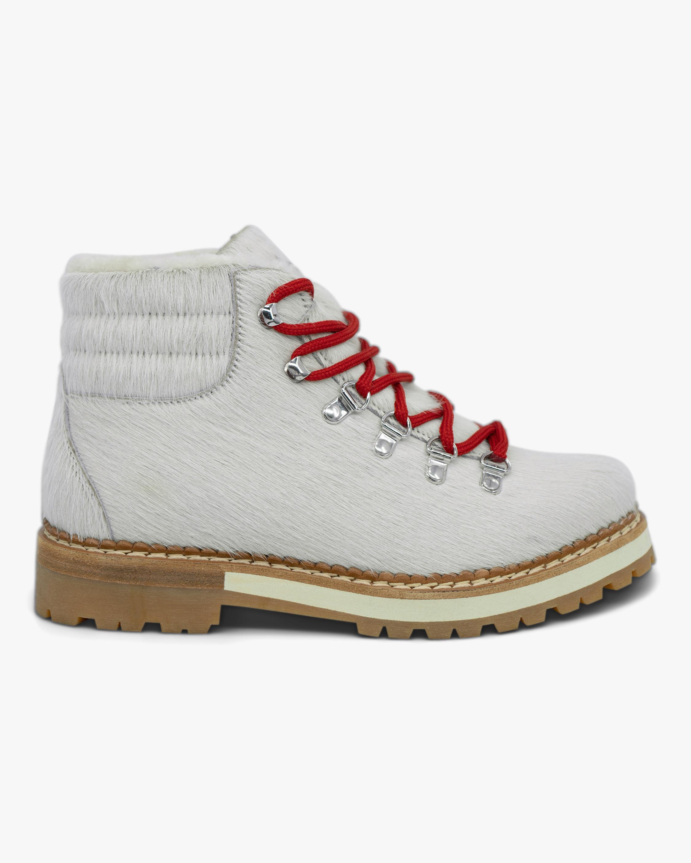 Montelliana White Marlena Shearling Boot 0