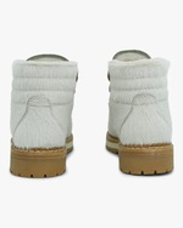 Montelliana White Marlena Shearling Boot 2