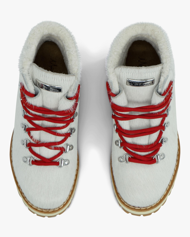 Montelliana White Marlena Shearling Boot 3