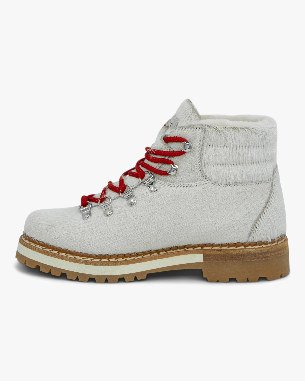 Montelliana White Marlena Shearling Boot 4