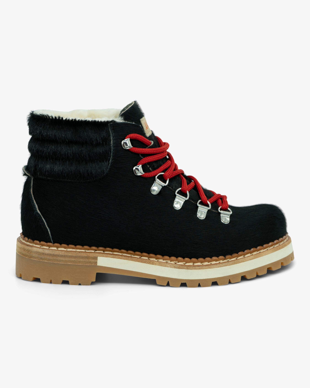 Montelliana Black Marlena Shearling Boot 0