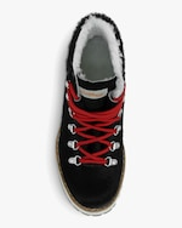 Montelliana Black Marlena Shearling Boot 3