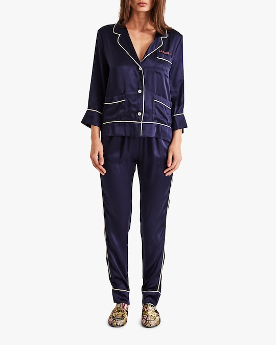 Sleeping with Jacques The Classic Pajama Set 1