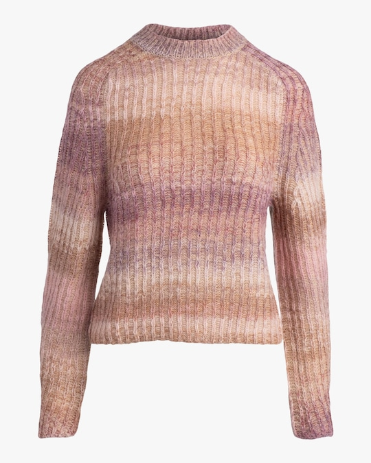 Naadam Ribbed Space-Dye Raglan Crewneck 0
