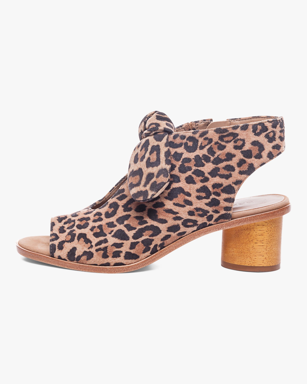Bernardo Cheetah Print Luna Sandal 1
