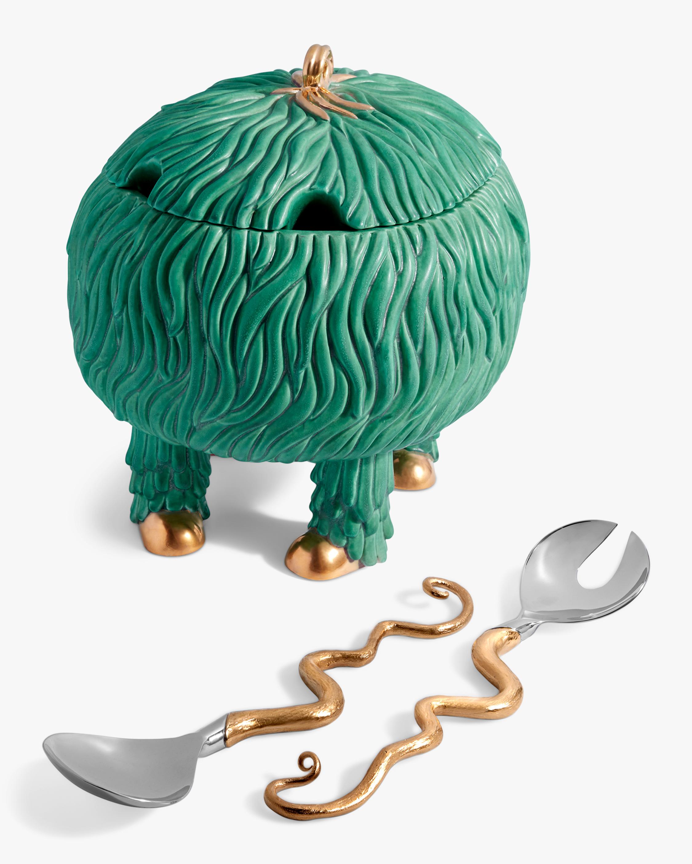 L'Objet Haas Fox Salad Monster Serving Bowl 2