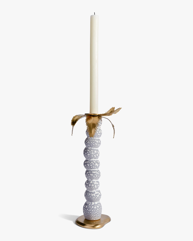 L'Objet Haas Large Mojave Palm Candlestick 0
