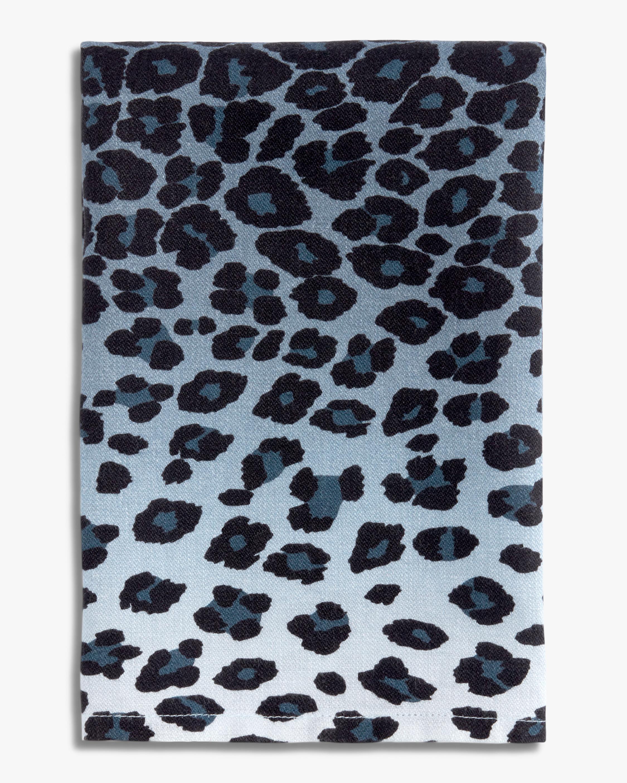 L'Objet Linen Sateen Leopard Napkins Set of 4 0