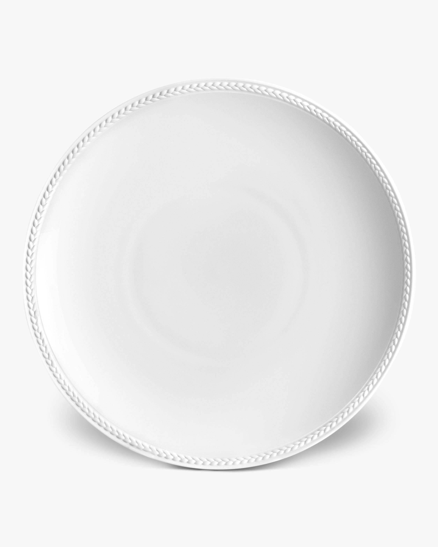 L'Objet Soie Tressée Soup Plate 0