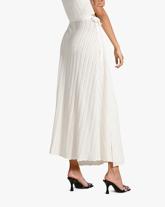 Van Der Kooij Lily Scalloped-Hem Wrap Skirt 2