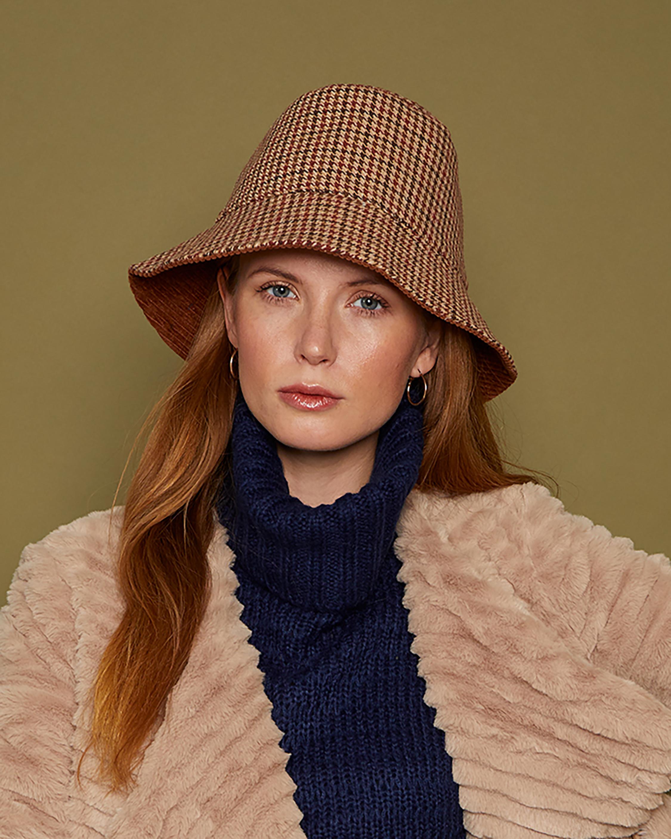 Eugenia Kim Sara Plaid Bucket Hat 2