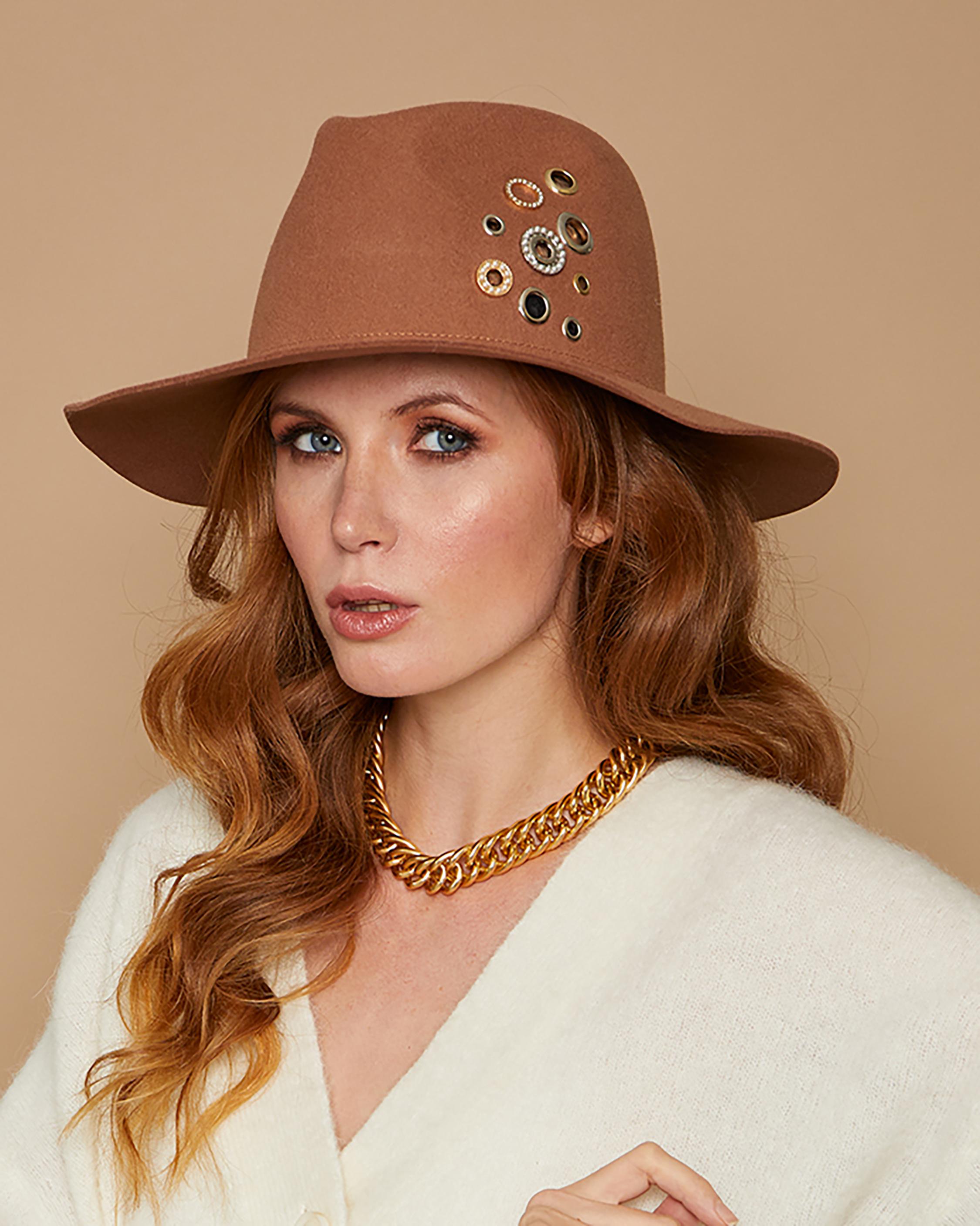 Eugenia Kim Georgina Wool Hat 0