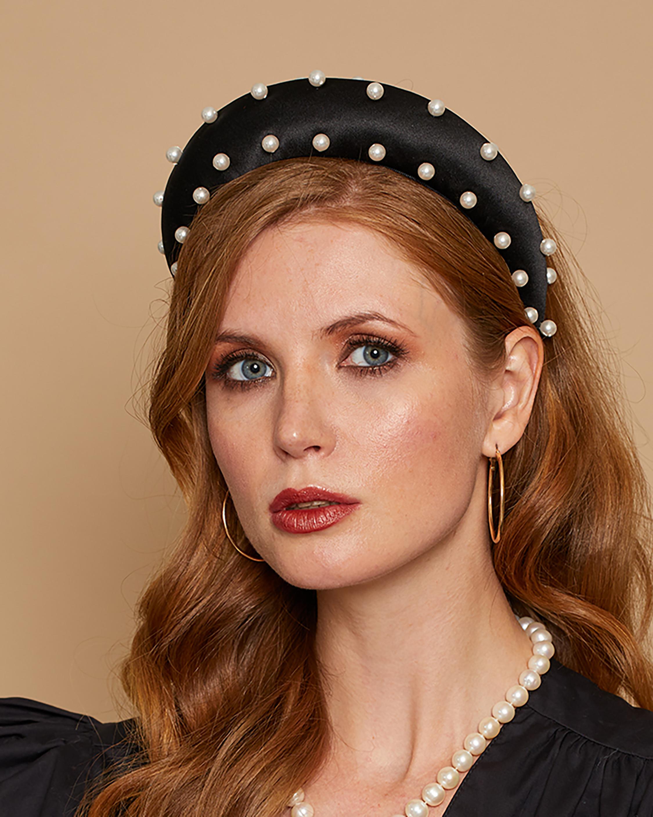 Eugenia Kim Cora Pearl Headband 0