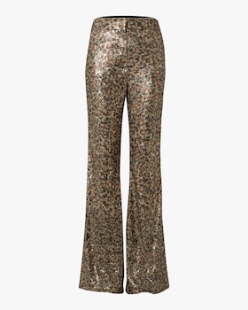 Playful Wildness Flared Pants