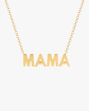 EF Collection Mama Pendant Necklace 1