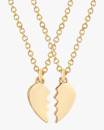 EF Collection Heart Friendship Necklace Set 1