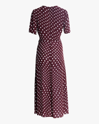 ALEXACHUNG Gathered Tie-Waist Dress 2