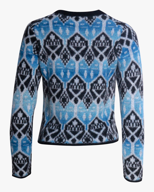 ALEXACHUNG Shrunken Crewneck Sweater 2