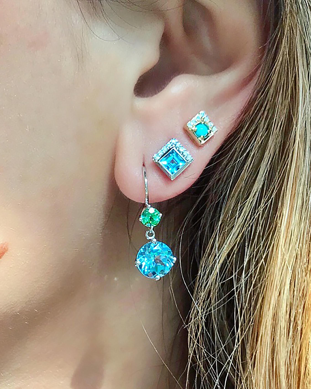 Jane Taylor Small Double Drop Earrings 1