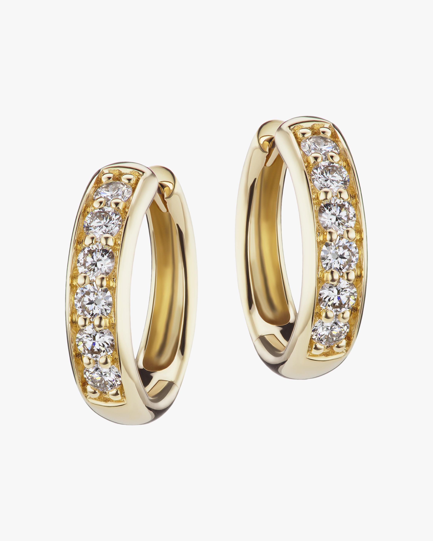 Jane Taylor Diamond Classic Hoop Earrings 1