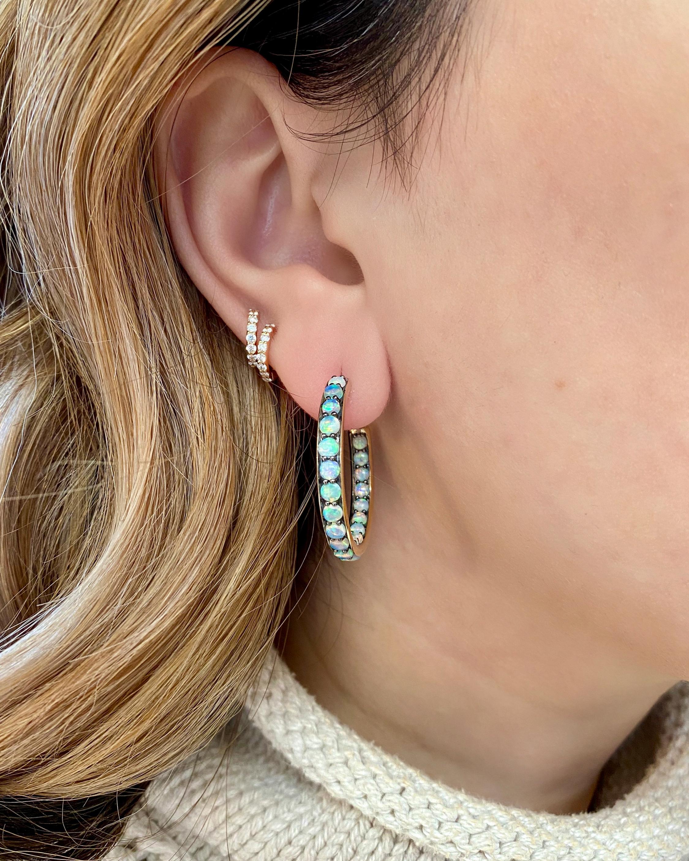 Jane Taylor Inny Outty Hoop Earrings 2