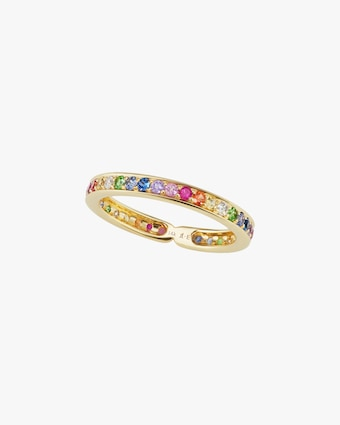 Jane Taylor Limited Edition Rainbow Eternity Band 1
