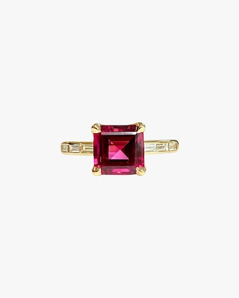 Jane Taylor One-of-a-Kind Tourmaline & Diamond Ring 1