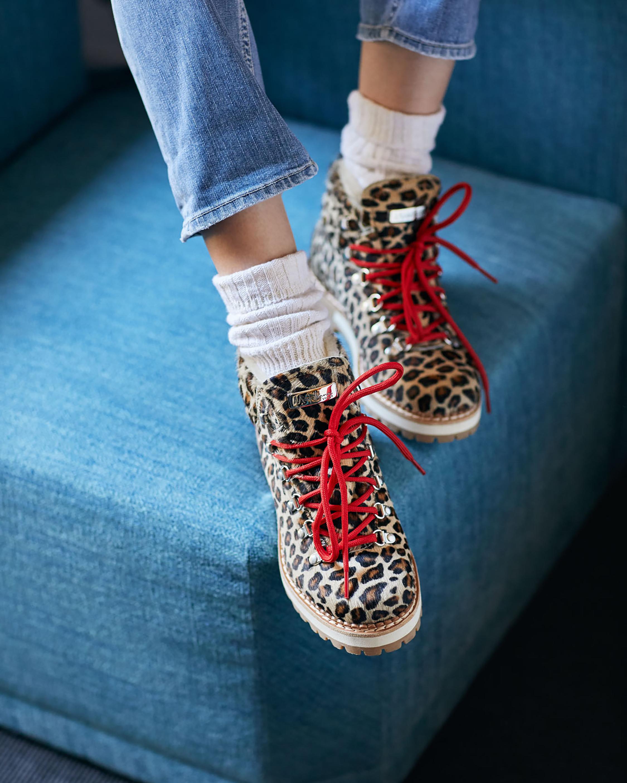 Montelliana Leopard Marlena Shearling Boot 1