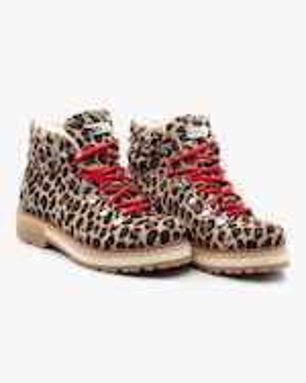 Montelliana Leopard Marlena Shearling Boot 2