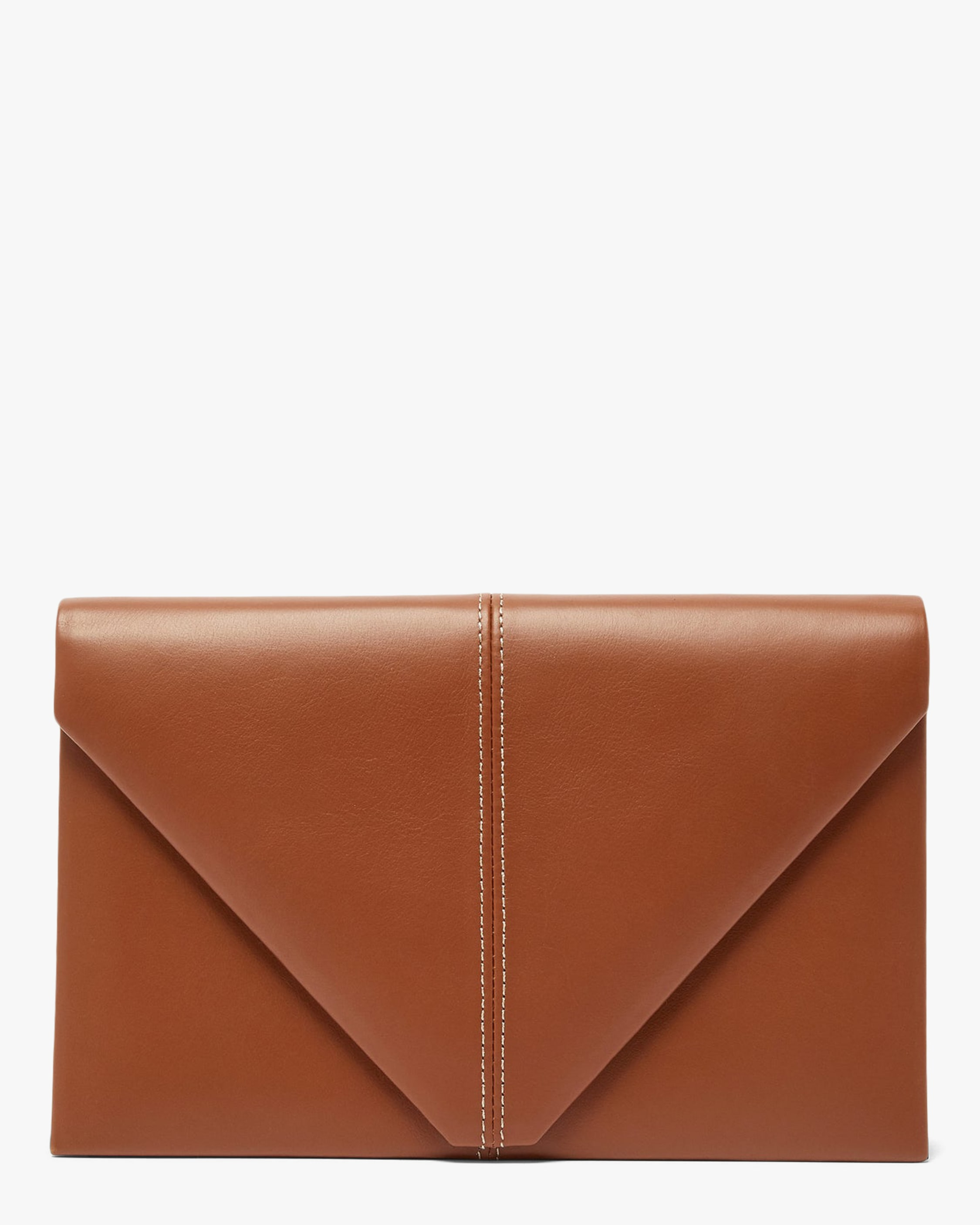 Hunting Season LEATHER & SUEDE ENVELOPE CLUTCH