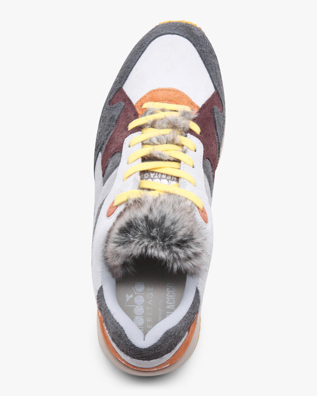 Diadora Eclipse Lupo Faux Fur Sneaker 3