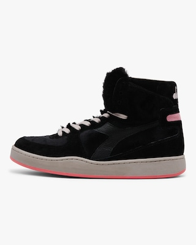 Diadora Mi Basket Gorilla Faux Fur High-Top Sneaker 1