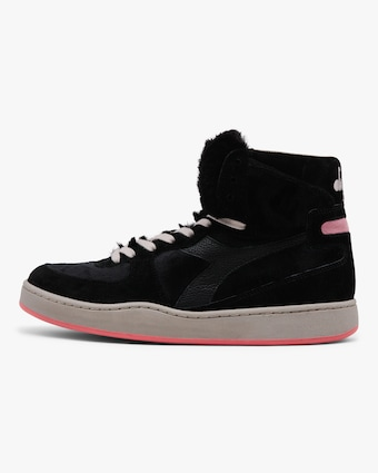 Diadora Mi Basket Gorilla Faux Fur High-Top Sneaker 1