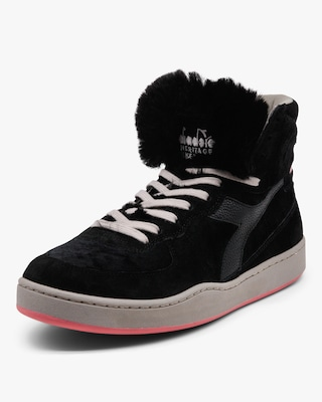 Diadora Mi Basket Gorilla Faux Fur High-Top Sneaker 2