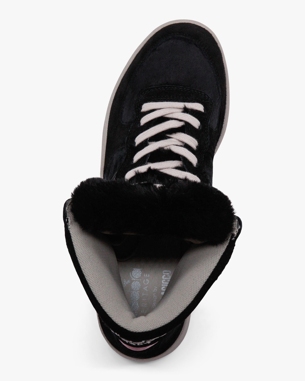 Diadora Mi Basket Gorilla Faux Fur High-Top Sneaker 3