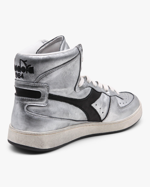 Diadora MI Basket Silver High-Top Sneaker 2