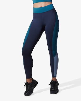 Michi Dark Ocean Alba Pocket Leggings 1