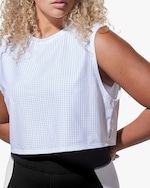 Michi White Sail Crop Top 1