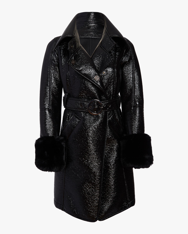 N'ONAT Faux Fur Belted Coat 4