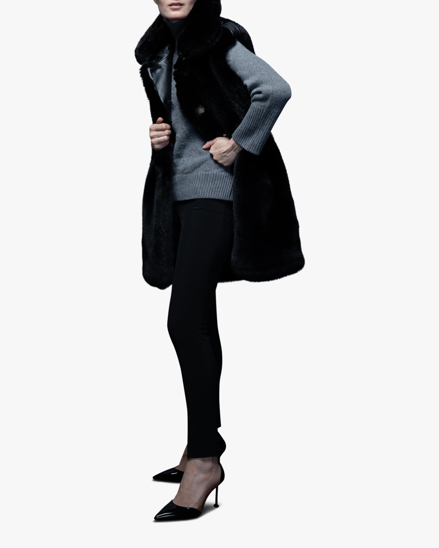 N'ONAT Faux Fur Belted Vest 1