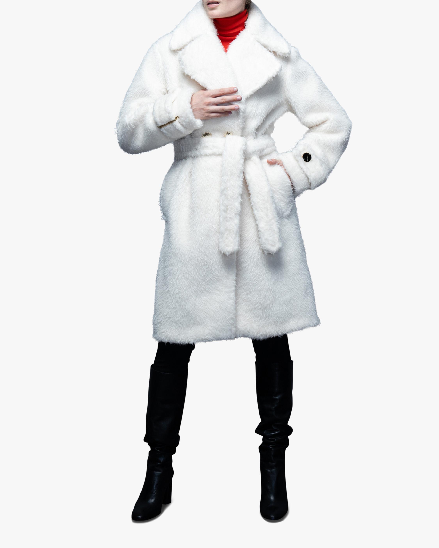 N'ONAT Teddy Faux Fur Collared Coat 2