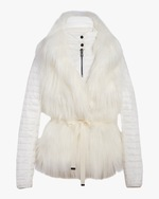 N'ONAT Faux Fur Convertible Puffer Jacket 0