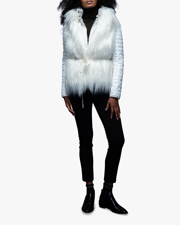 N'ONAT Faux Fur Convertible Puffer Jacket 1