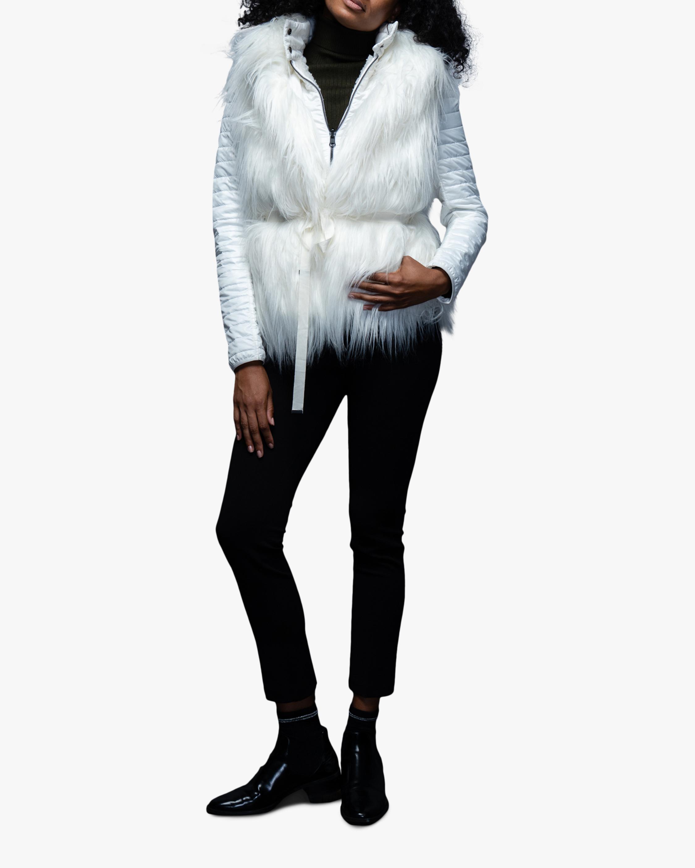 N'ONAT Faux Fur Convertible Puffer Jacket 2