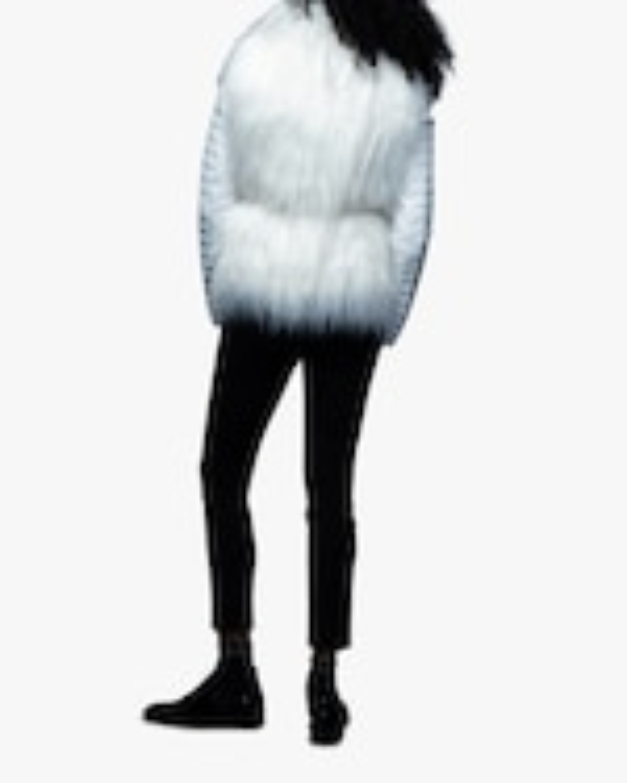 N'ONAT Faux Fur Convertible Puffer Jacket 4