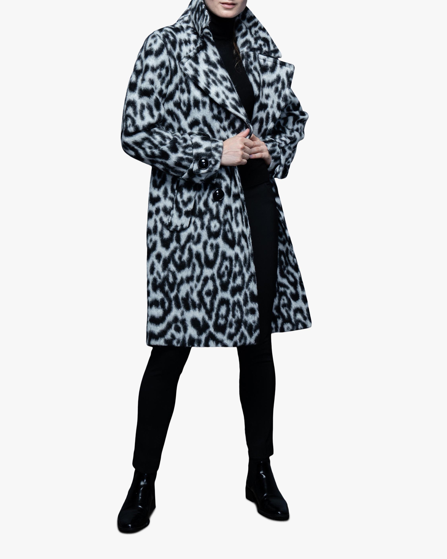 N'ONAT Snow Leopard Faux Fur Coat 3