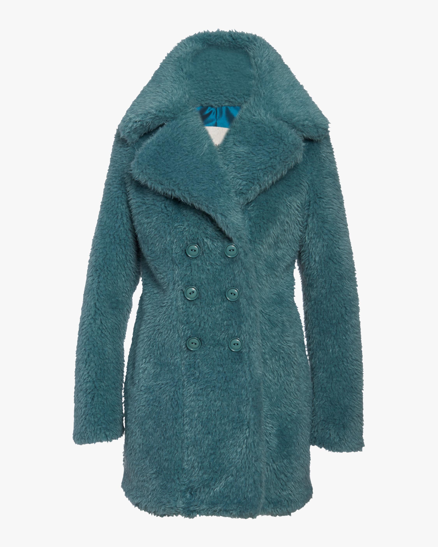 N'ONAT Faux Fur Shawl-Collar Coat 0