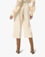 Michael Kors Collection Wool Cropped Pants 1